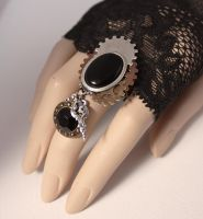 Gears ring by Pinkabsinthe