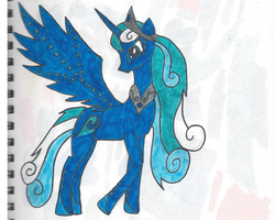 Queen Whitecap by PerkyPitch