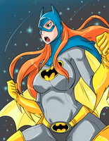 Batgirl by Ray-D-Sauce
