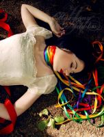 Death by Rainbow Ribbons by missmillieclaire
