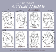 Style Meme: Gil by gilll