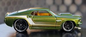 69 Mustang by boogster11