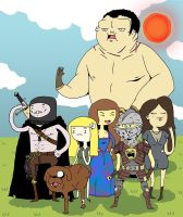 Book of the New Sun X Adventure Time by PandaFunkTeam