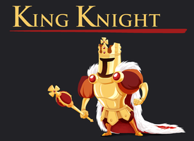 King Knight by PeterSenay