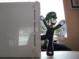 Paper Kid LUIGI by DrGengar
