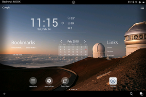 Nook Hd+  Apex Launcher by computerdummy5