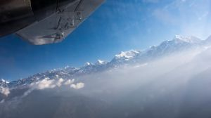 Window above the clouds by abdulhamid-alattar