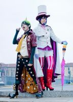 Amaimon and Mephisto, showoff by hakucosplay