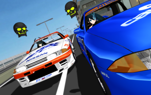 MMD BRS DM Race by thechevaliere
