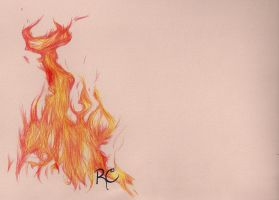 Flaming Laptop Cover by Pokemon-Chick-1