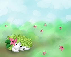 Shaymin. by mantoux3