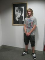 At a art exhibition by benmboard