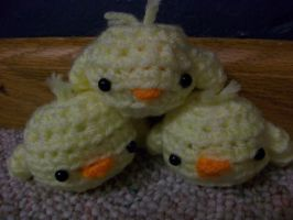 Crochet Gilbirds by MLEann