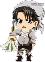 Levi Rivalle Chibi by Yuhichu