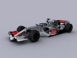 Mclaren MP4-22 - 3D WIP by motionmedia