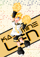 Go! Go! Go! Cheerleader Len! by Nephiam