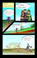 Evelyn League of Legends Comic Contest Entry by dwarfguy