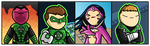 Brightest Day, Blackest Night by Mattmadeacomic