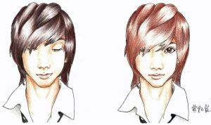 Youngmin and Kwangmin 2 by BKaufeli