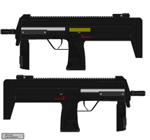 HK MP7 by bagera3005