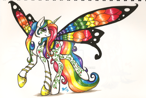 The Butterfly Princess by tasertail
