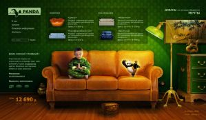 Panda sofas. by downsign