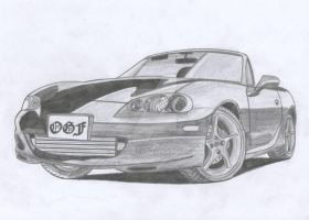 Mazda MX-5 Roadster by Arek-OGF