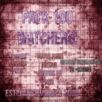 +PACK100WATCHERS by EstefanySwagger2000