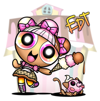 PPG Lalaloopsy: Scoops Waffle Cone by thweatted