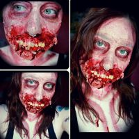 Realistic Zombie by Makeupbyashh