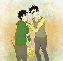albus and james by p0lar0ida