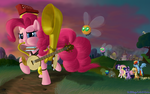Pinkie's Heroic Vanquishing Polka Parade by DeathPwny