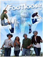 Footloose The Musical Poster by jasonabroussard