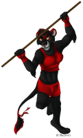 :COM: Kaidi-Lioness by TruLion