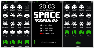 Space Invaders Theme - iPhone by 2900d4u