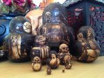 2014 Halloween Matryoshka Dolls - View 1 by parizadhe