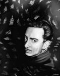 dali portrait by 1oshuart