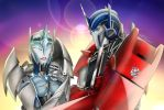 Transformers Prime Optimus and Electronia by ElectroniaPrime