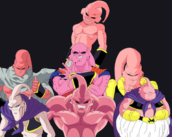 Buu's Fury by Ghaleonx5z