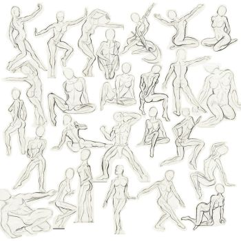Speed sketching - nude figure by ASaunders