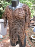 Orc chainmail by enginseer