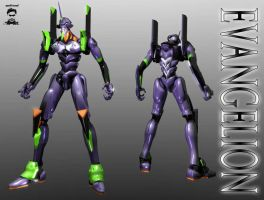 Evangelion Unit 01 by ssejllenrad2