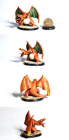 MS6-004 Ash's Charizard by TheMiniverse