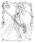 Dragon's Crown Sorceress Lines by NoFlutter