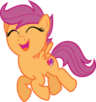 MLP Vector - Scootaloo #1 by jhayarr23