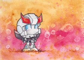 Chibi Prowl in Pink by The-Starhorse