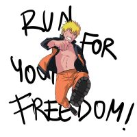 Run for your freedom! by Sango94