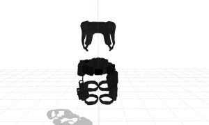 MMD Holster harness by MMDFuph