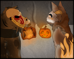 .: Skullbound - Halloween! :. by bedheadd