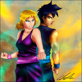 [Contest Entry] Cherry Yasashii and Gohan by Albro1